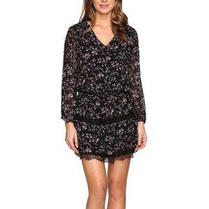 968b89c0c Joie Auggie Lace Floral Silk Dress Size Small